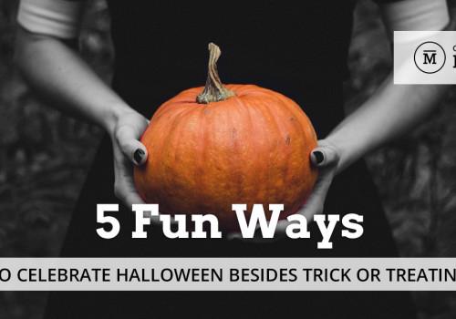 5 Fun Ways to Celebrate Halloween Besides Trick or Treating
