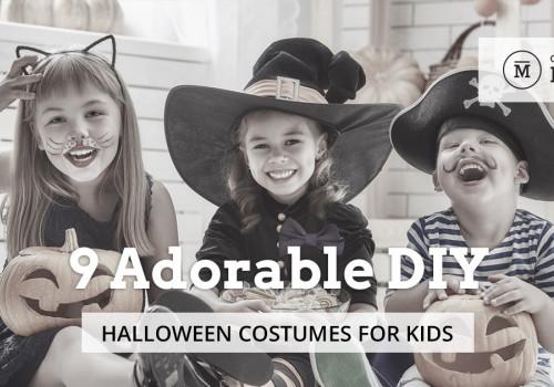 9 Adorable DIY Halloween Costumes for Kids